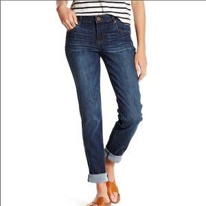 KFTK • Dark Wash Catherine Boyfriend Jeans